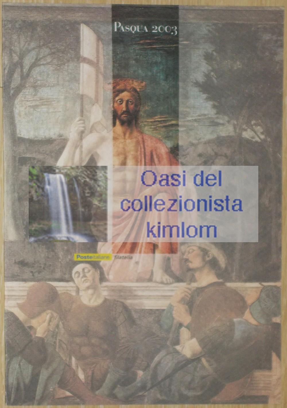 folder - Pasqua 2003