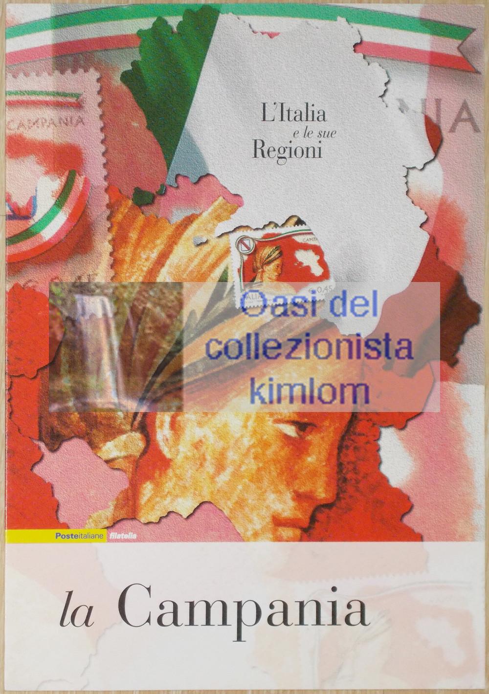 folder - L'Italia e le sue Regioni - La Campania