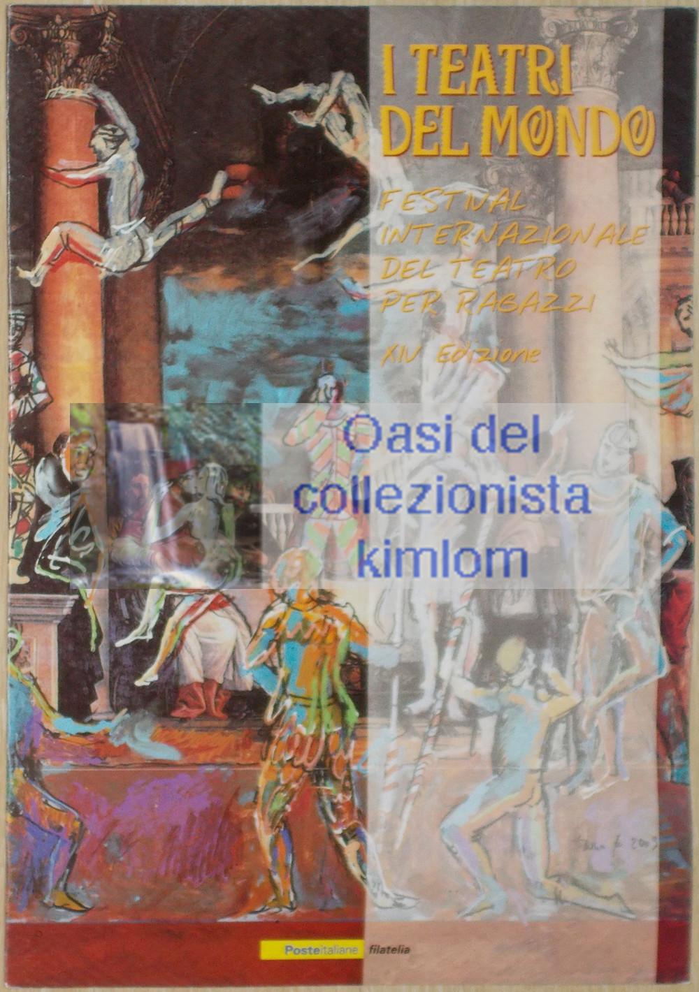 folder - I teatri del mondo - Festival internazionale del teatro per ragazzi XIV edizione