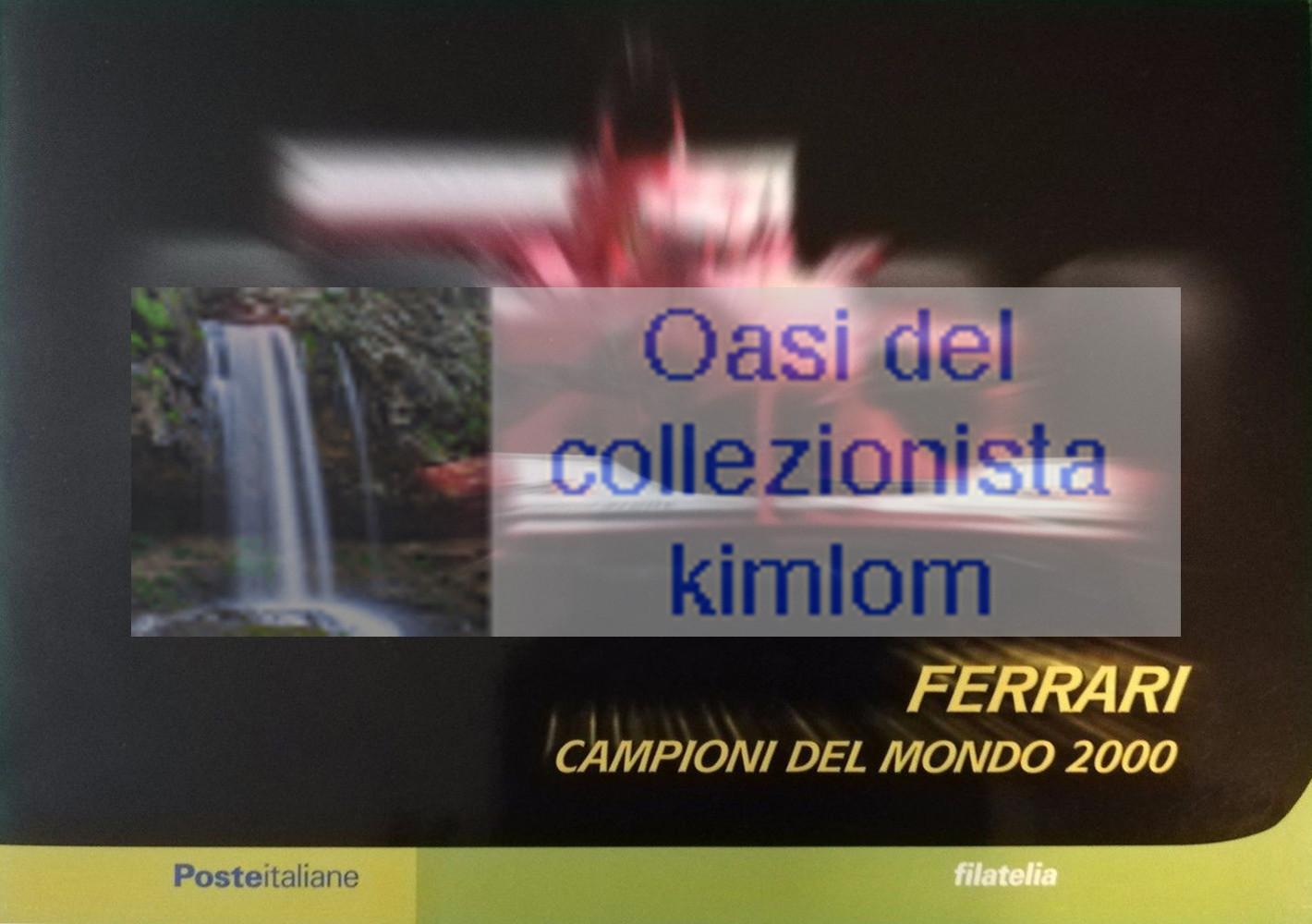 folder - Ferrari, campione mondiale F1 2000