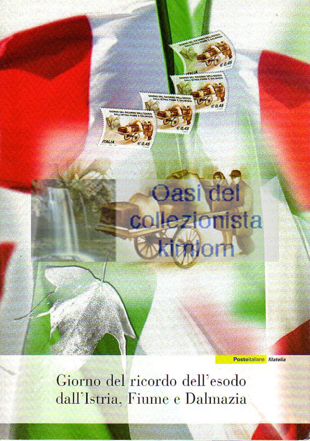 folder - Giorno del ricordo dell'esodo dall'Istria, Fiume e Dalmazia