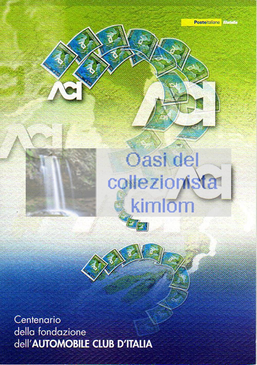 folder - Centenario della fondazione dell'Automobile Club d'Italia