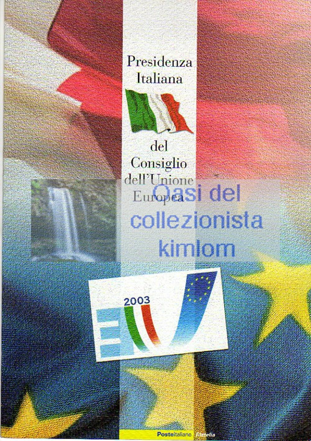 folder - Presidenza Italiana del Consiglio dell'Unione Europea