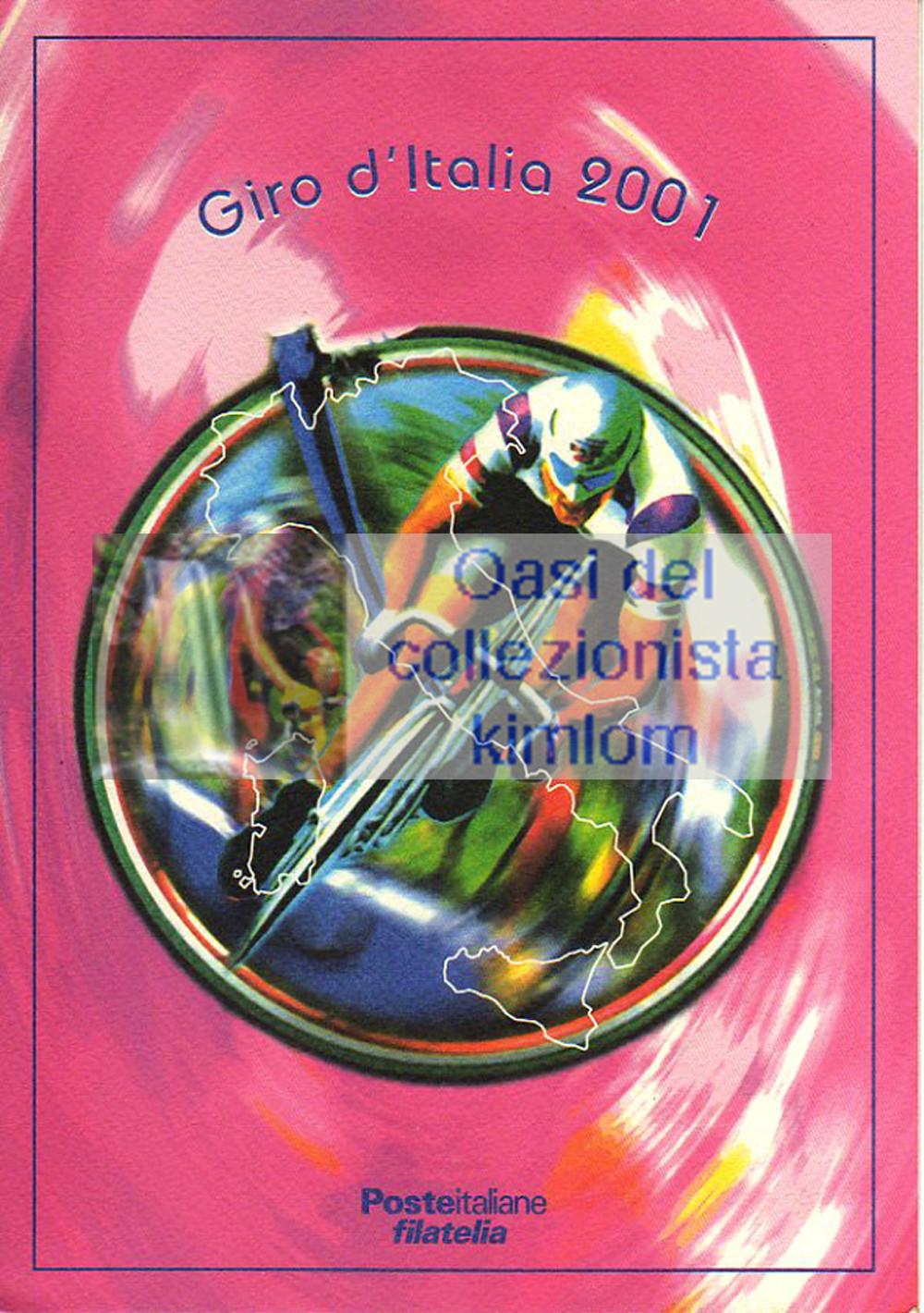 folder - Giro d'Italia 2001