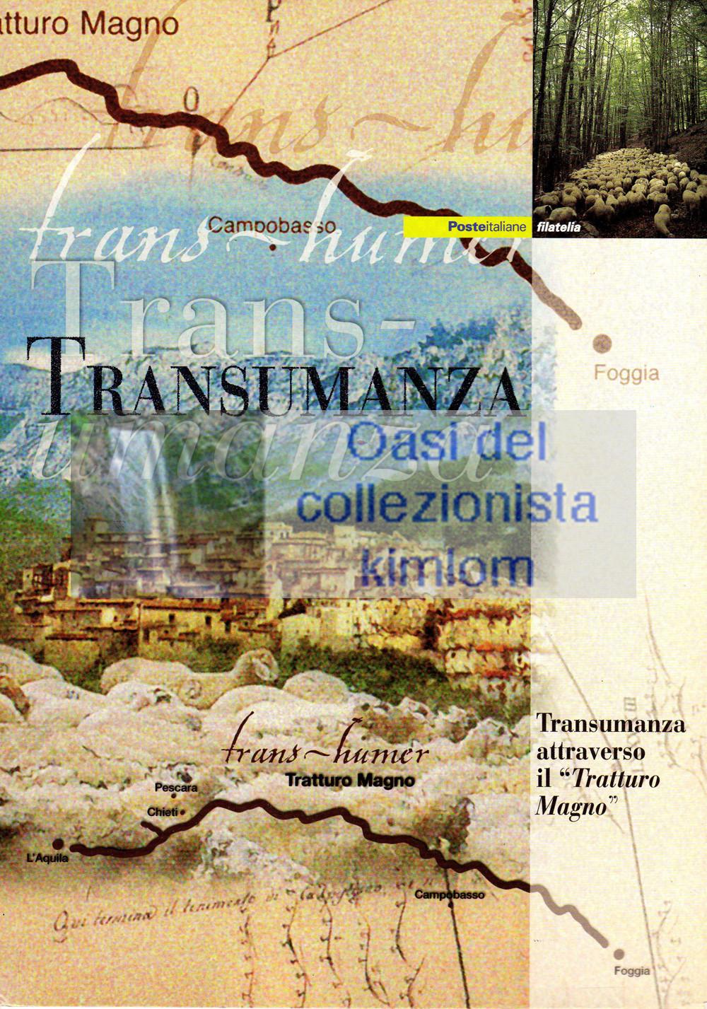 """folder - Transumanza attraverso il """"Tratturo Magno"""""""