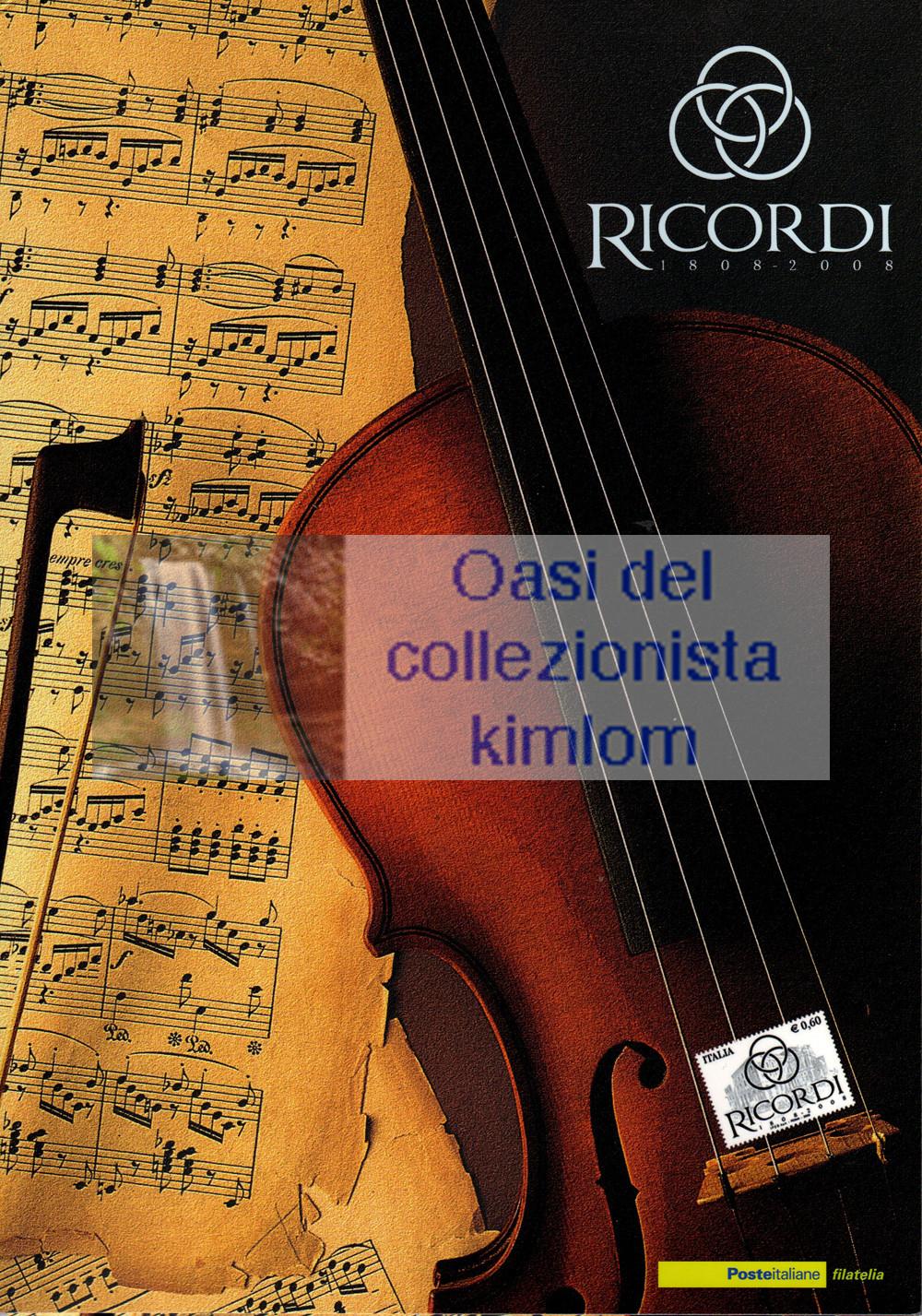 folder - Ricordi 1808-2008