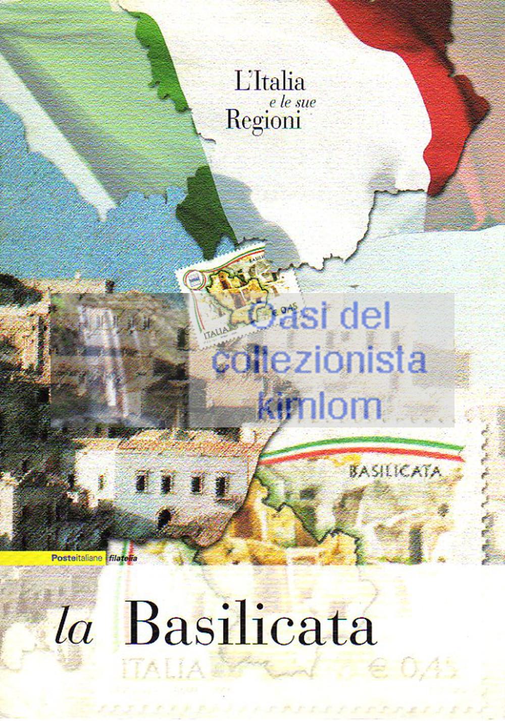 folder - L'Italia e le sue regioni - La Basilicata