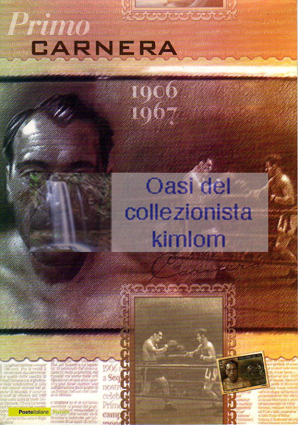 folder - Primo Carnera 1906 - 1967