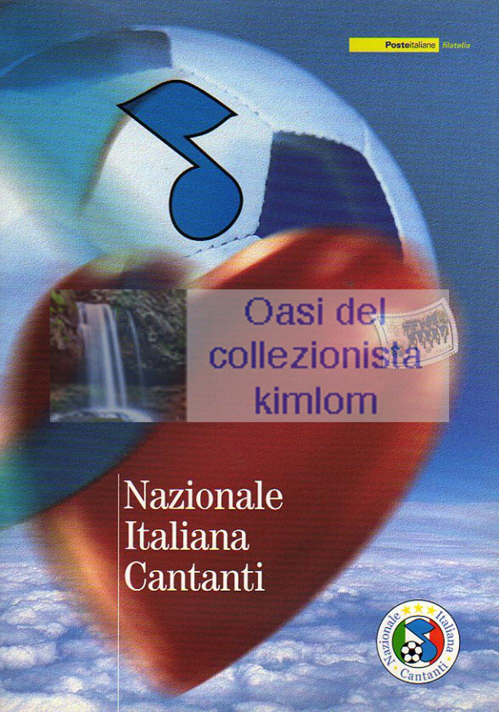 folder - Nazionale Italiana Cantanti