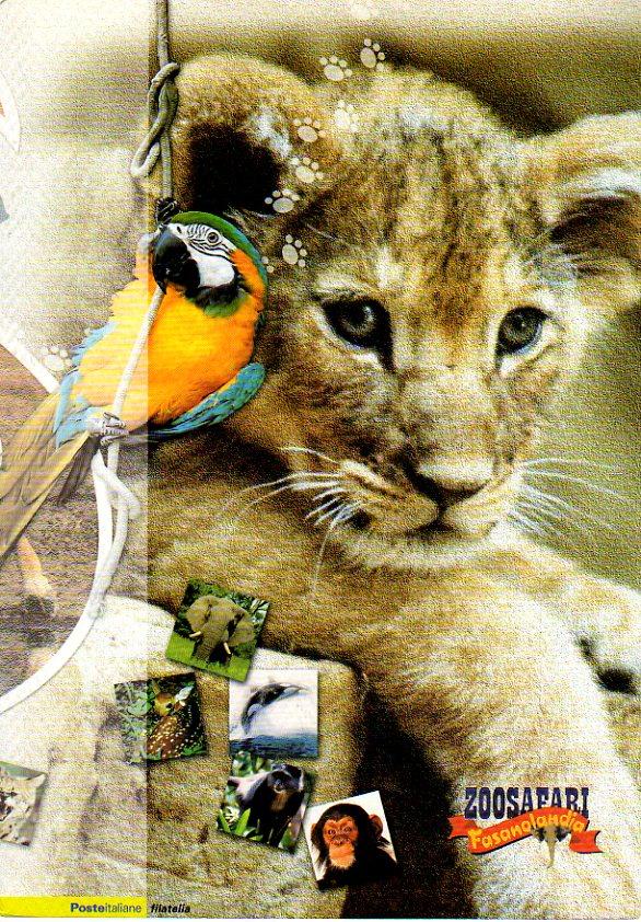 folder - 30° compleanno del parco Zoosafari Fasanolandia