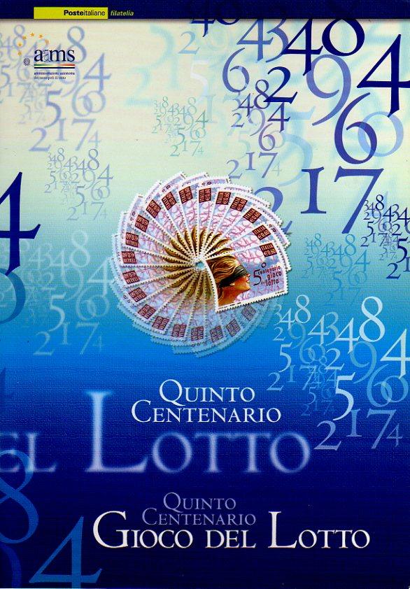 Quinto centenario gioco del lotto
