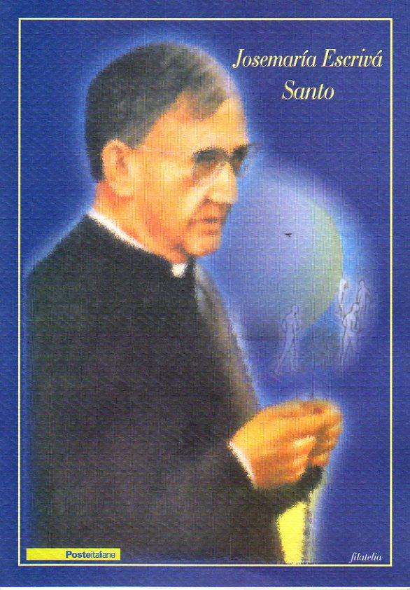 folder - Josemaria Escriva Santo