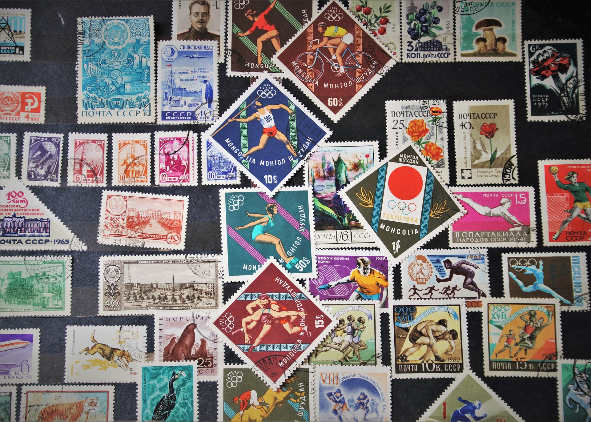 forme francobolli